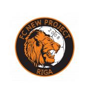 Логотип футбольный клуб Нью Проджект (Рига)