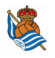 Логотип футбольный клуб Реал Сосьедад (Сан-Себастьян)