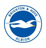 Логотип футбольный клуб Брайтон энд Хоув Альбион