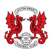 Логотип футбольный клуб Лейтон Ориент