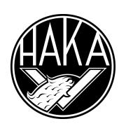 Логотип футбольный клуб Хака (Валкеакоски)