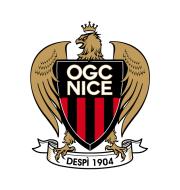 Логотип футбольный клуб Ницца