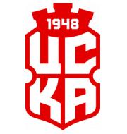 Логотип футбольный клуб ЦСКА 1948 II (София)