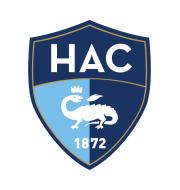 Логотип футбольный клуб Гавр