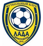 Логотип футбольный клуб Лада СОК (Димитровград)