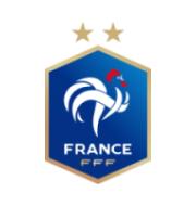 Логотип футбольный клуб Франция
