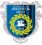 Логотип футбольный клуб Никополь