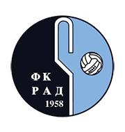 Логотип футбольный клуб Рад (Белград)