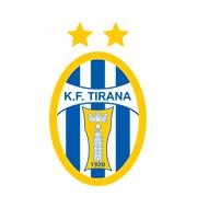 Логотип футбольный клуб Тирана