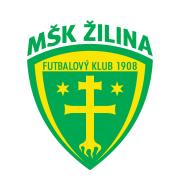 Логотип футбольный клуб Жилина (до 19)