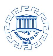 Логотип футбольный клуб Акрополис (Сундбюберг)