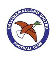 Логотип футбольный клуб Баллинамаллард Юнайтед