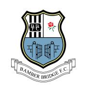 Логотип футбольный клуб Бамбер Бридж (Престон)