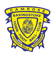 Логотип футбольный клуб Бейсингсток