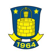 Логотип футбольный клуб Брондбю (Брённбю)