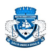 Логотип футбольный клуб Дачия Униря Браила