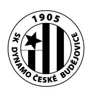 Логотип футбольный клуб Динамо (Ческе-Будеевице)