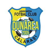 Логотип футбольный клуб Дунэря Кэлэраши