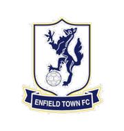 Логотип футбольный клуб Энфилд Таун (Лондон)