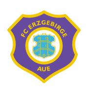 Логотип футбольный клуб Эрцгебирге (Ауэ)