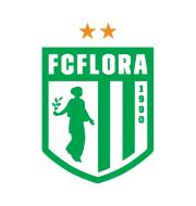 Логотип футбольный клуб Флора (Таллин)