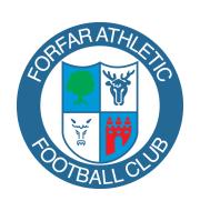 Логотип футбольный клуб Форфар Атлетик
