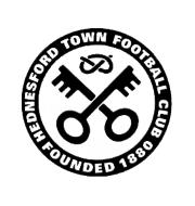Логотип футбольный клуб Хеднесфорд Таун