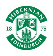Логотип футбольный клуб Хиберниан (Эдинбург)