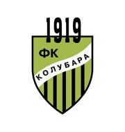 Логотип футбольный клуб Колубара (Лазаревац)