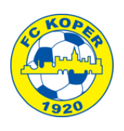 Логотип футбольный клуб Копер