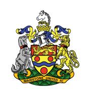 Логотип футбольный клуб Мейдстон Юнайтед
