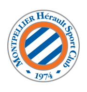Логотип футбольный клуб Монпелье