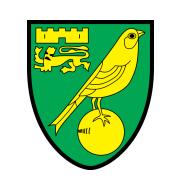 Логотип футбольный клуб Норвич Сити