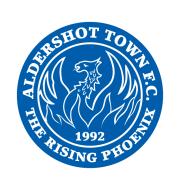 Логотип футбольный клуб Олдершот