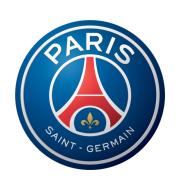 Логотип футбольный клуб Пари Сен-Жермен (Париж)