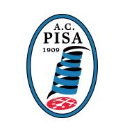 Логотип футбольный клуб Пиза