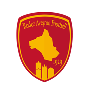 Логотип футбольный клуб Родез
