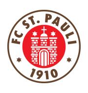 Логотип футбольный клуб Санкт-Паули (Гамбург)