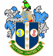 Логотип футбольный клуб Саттон Юнайтед