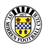 Логотип футбольный клуб Сент-Миррен (Пейсли)