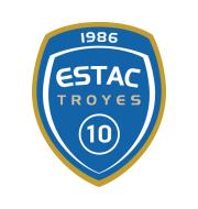 Логотип футбольный клуб Труа
