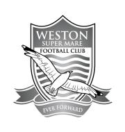 Логотип футбольный клуб Уэстон-супер-Мар