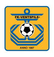 Логотип футбольный клуб Вентспилс
