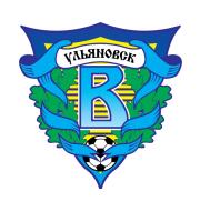 Логотип футбольный клуб Волга (Ульяновск)