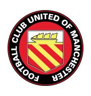 Логотип футбольный клуб Юнайтед оф Манчестер