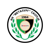 Логотип футбольный клуб Металлург (Скопье)