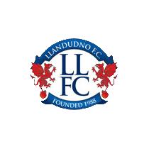 Логотип футбольный клуб Лландидно