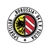 Логотип футбольный клуб Боруссия (Фульда)
