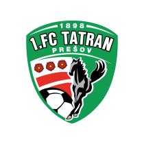 Логотип футбольный клуб Татран Прешов
