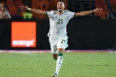 Игрок сборной Алжира и